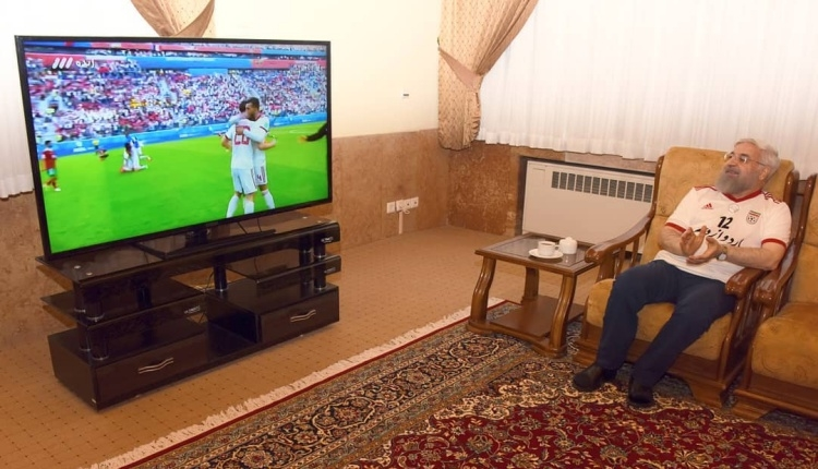 İran Cumhurbaşkanı Ruhani, galibiyetin keyfini böyle çıkardı