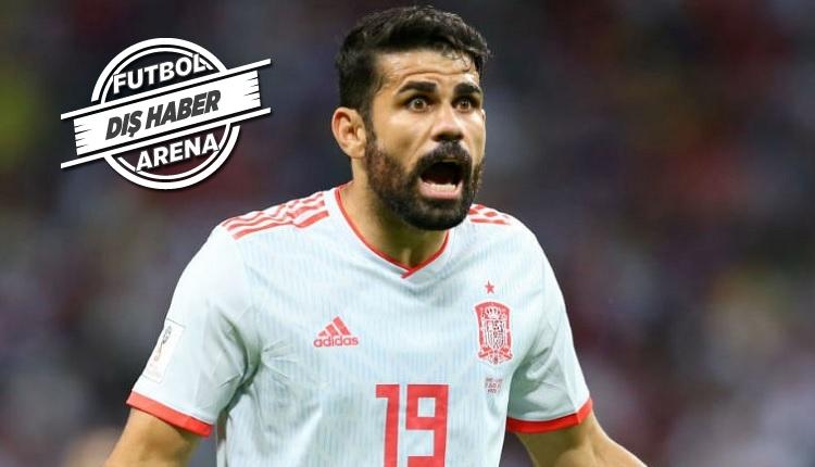 İranlı gazetecisinin sorusu Diego Costa'yı sinirlendirdi