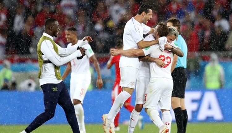İsviçre, Dünya Kupası'nda ilki başardı