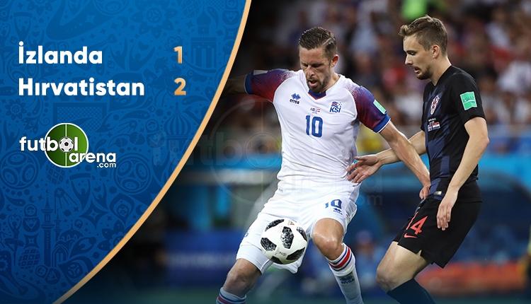 İzlanda 1-2 Hırvatistan maç özeti ve golleri (İZLE)