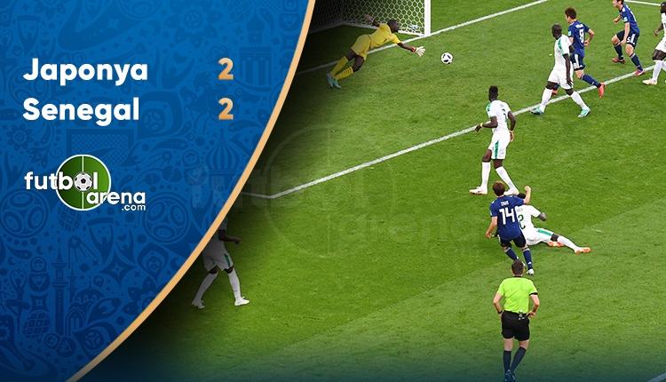 Japonya 2-2 Senegal maç özeti ve golleri İZLE