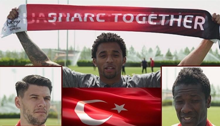 Kayserisporlu futbolculardan EURO 2024 için destek