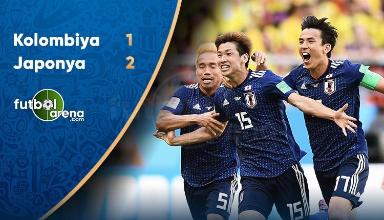 Kolombiya 1-2 Japonya maç özeti ve golleri İZLE