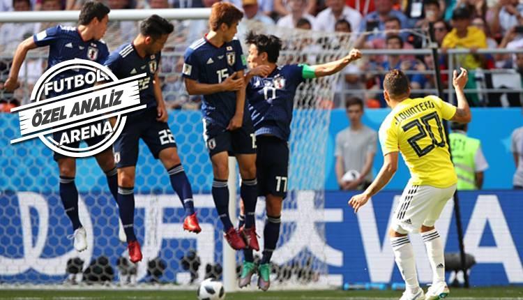 Kolombiya - Japonya maçının hikayesi: