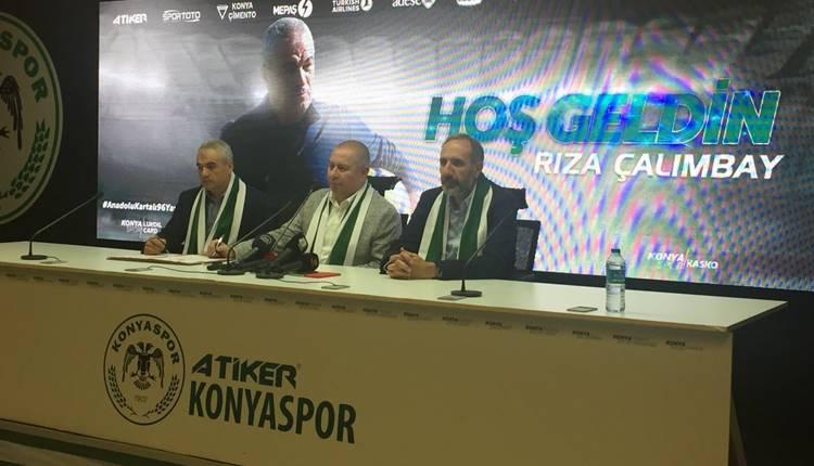 Konyaspor Rıza Çalımbay ile sözleşme imzaladı!