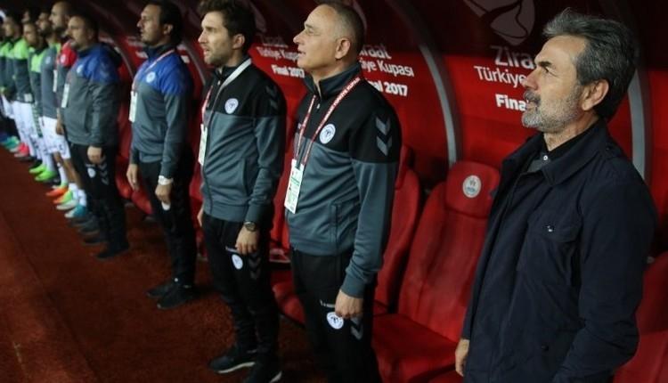 Konyaspor'da Aykut Kocaman sesleri