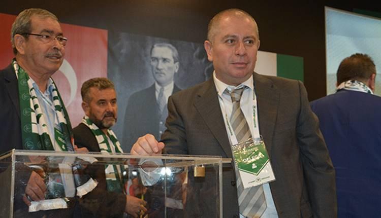 Konyaspor'un yeni başkanı Hilmi Kulluk umut saçtı