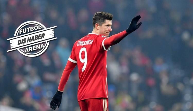 Lewandowski için Bayern Münih'den açıklama