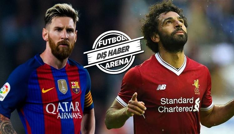 Lionel Messi'den Mohamed Salah transferi isteği