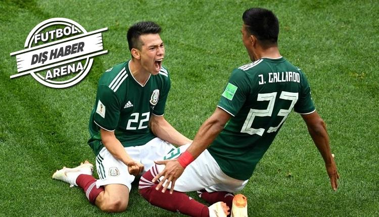 Lozano'nun Almanya'ya golünde Meksika'da deprem oldu
