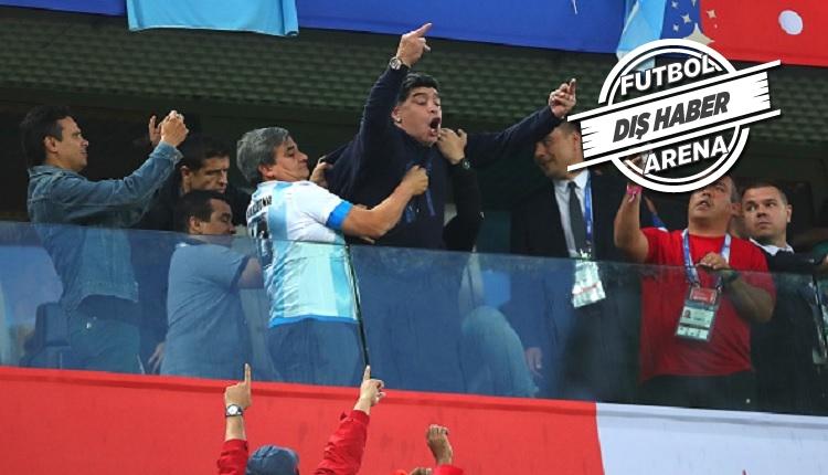 Maradona Arjantin - Nijerya maçı sonrası rahatsızlandı