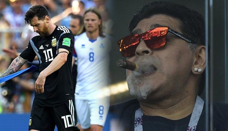 Maradona gözaltına alındı! Soyunma odasına girmeye çalışınca...