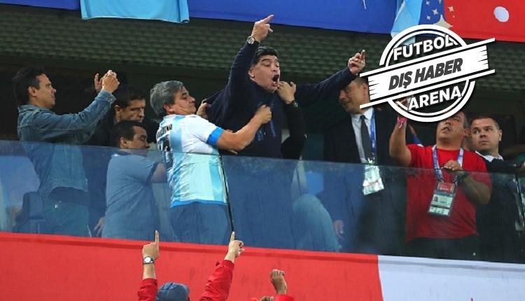 Maradona'dan öfkeli açıklama: