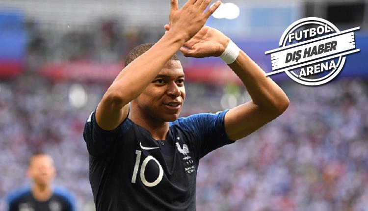 Mbappe, Fransa - Arjantin maçının ardından konuştu: