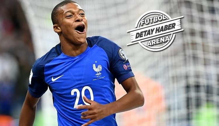 Mbappe Fransa - Peru maçında attığı golle tarihe geçti