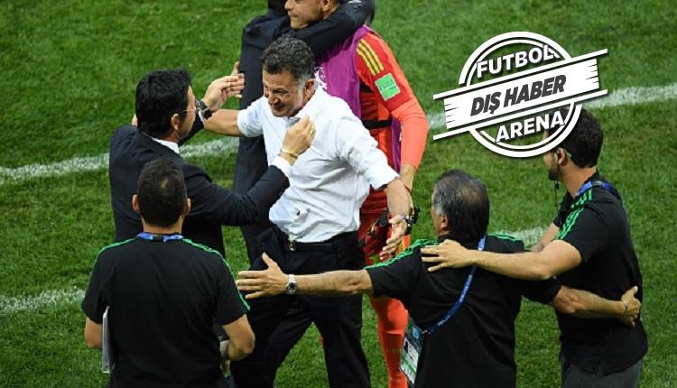 Meksika'nın hocası Juan Carlos Almanya galibiyetini anlattı