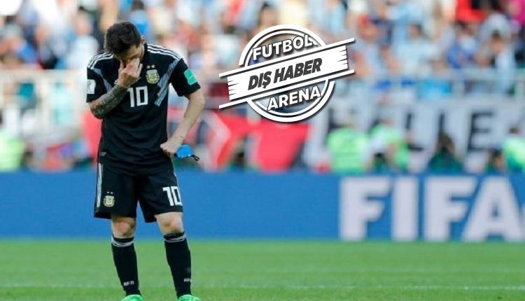 Messi Arjantin - İzlanda maçı sonrası ağladı