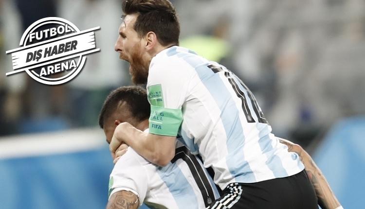 Messi Dünya Kupası'nda tarihe geçti