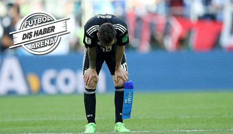 Messi, Sampaoli'den kadroyu değiştirmesini istedi