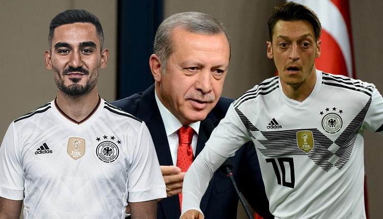 Mesut Özil ve İlkay Gündoğan'a Almanya'dan bir tepki daha: