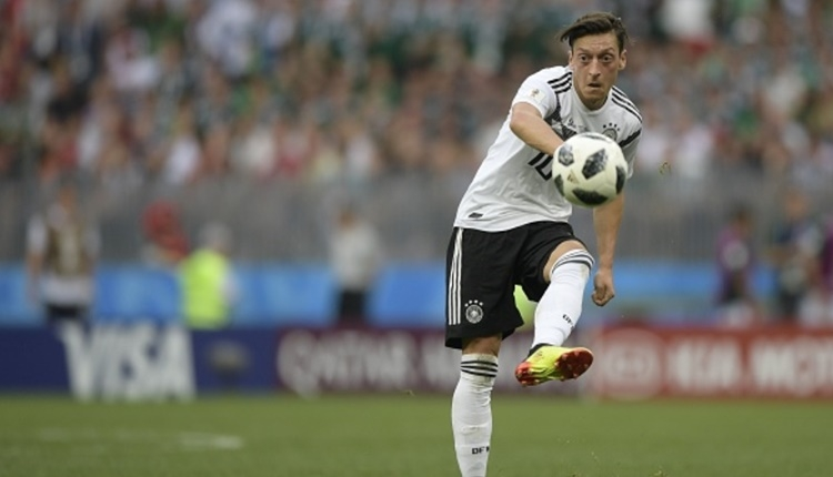 Mesut Özil'den Almanya Milli Takımında rekor