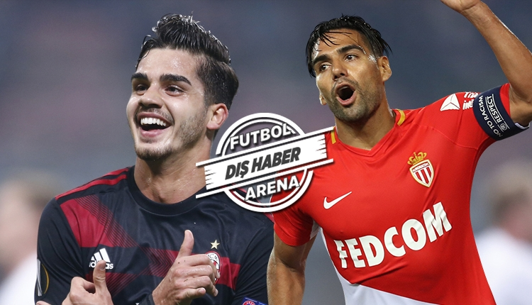 Milan'dan Radamel Falcao için Andre Silva