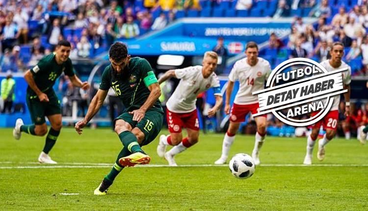 Mile Jedinak Dünya Kupası'nda rekora koşuyor