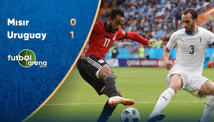 Mısır 0-1 Uruguay maç özeti ve golü İZLE