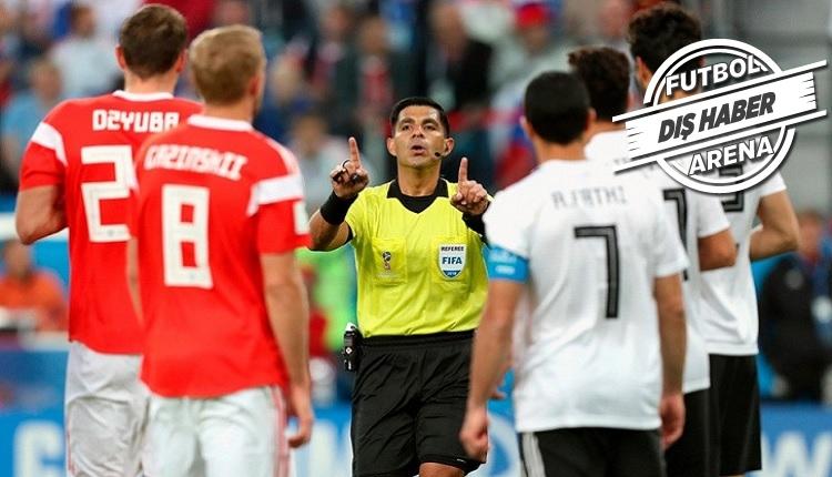 Mısır Futbol Federasyonu Rusya maçının hakemini şikayet edecek