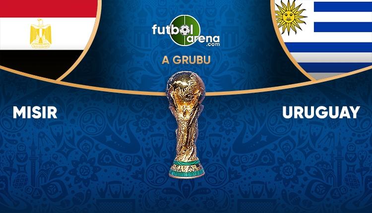 Mısır Uruguay saat kaçta, hangi kanalda? (Mısır Uruguay TRT 1 canlı şifresiz İZLE)