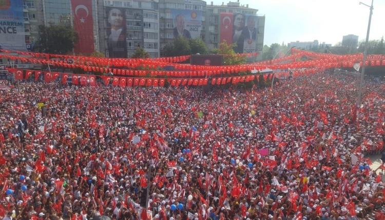 Muharrem İnce'nin Ankara mitingi (Muharrem İnce'nin Ankara mitingini İZLE)