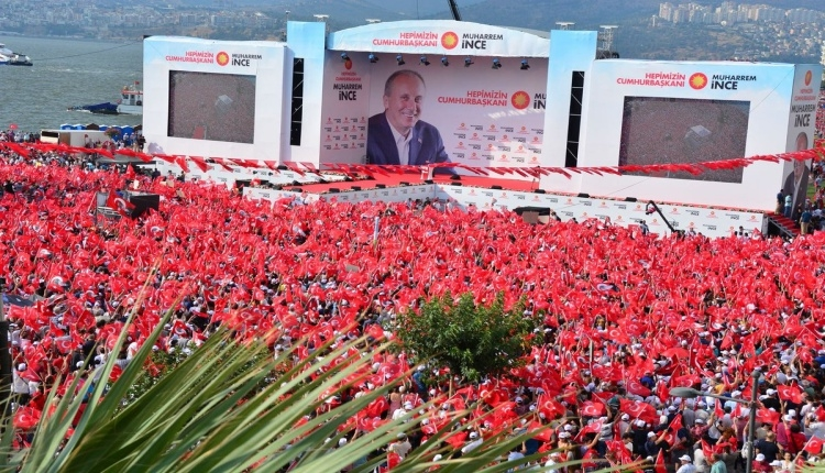 Muharrem İnce'nin İzmir mitingine kaç milyon katıldı? (Muharrem İnce İzmir mitingi İZLE)