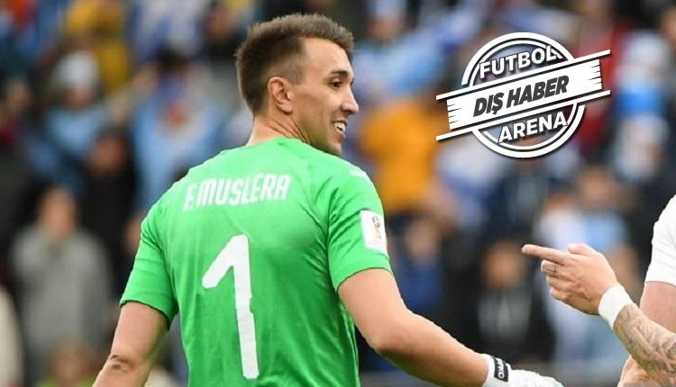 Muslera Dünya Kupası'nda Uruguay adına iddialı
