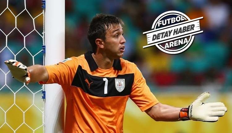 Muslera'da Uruguay milli takımında yeni bir rekor
