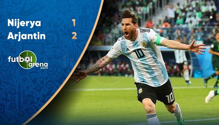 Nijerya 1-2 Arjantin maç özeti ve golleri (İZLE)