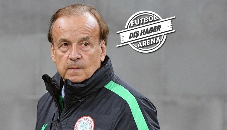 Nijerya Teknik Direktörü Gernot Rohr: