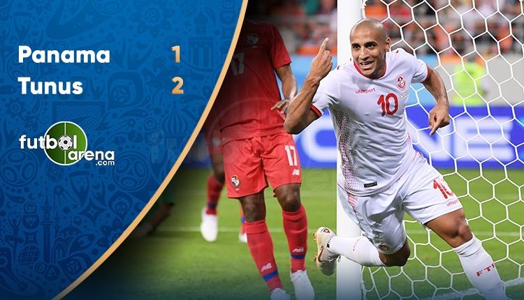 Panama 1-2 Tunus maç özeti ve golleri (İZLE)