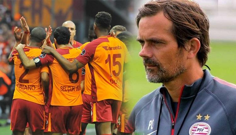 Philip Cocu'nun eski takım PSV, Galatasaray ile karşılaşacak