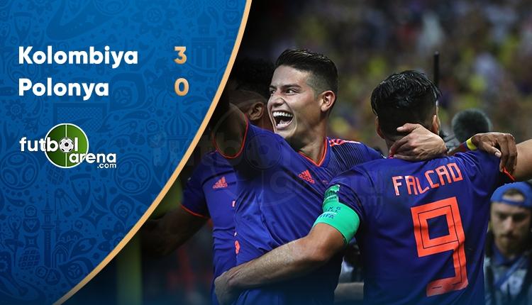 Polonya 0-3 Kolombiya maç özeti ve golleri (İZLE)