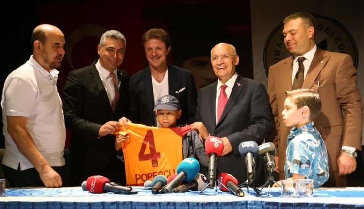 Popescu 17 yıl sonra Galatasaray formasıyla