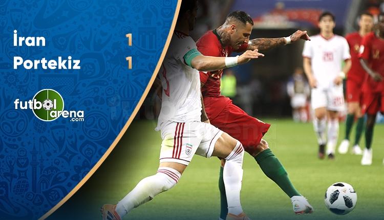 Portekiz 1-1 İran maçı özeti ve golleri (İZLE)