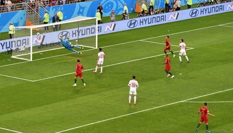 Quaresma'nın İran'a attığı gol müthiş gol (İZLE) - Portekiz İran Quaresrma'nın golü