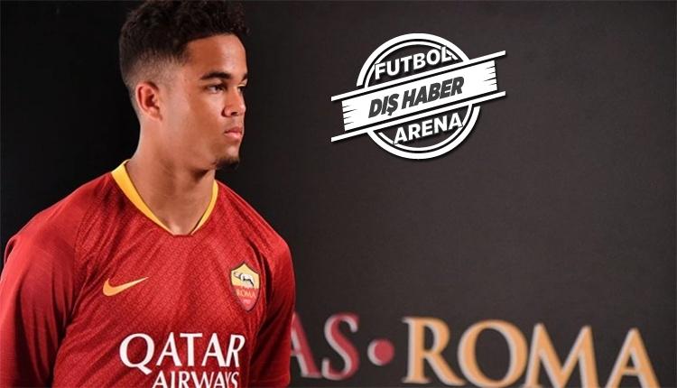 Roma 19 yaşındaki Justin Kluivert'ı transfer etti