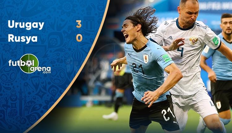 Rusya 0-3 Uruguay maçı özeti ve golleri (İZLE)