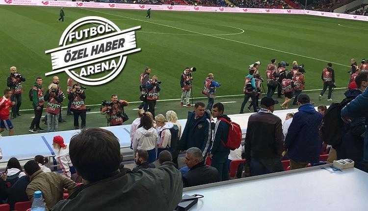 Rusya - Türkiye maçında Çağlar, Yusuf ve Okay'a yakın takip