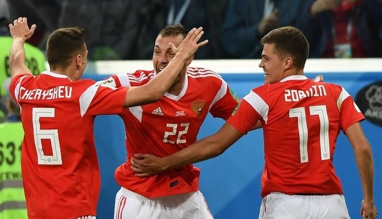 Rusya'dan Dünya Kupası'nda bir ilk (Rusya kadrosu)