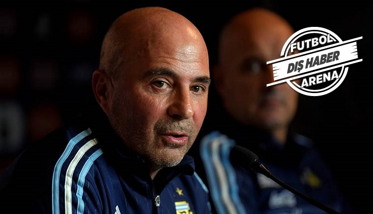 Sampaoli'den Arjantin - Fransa maç sonu istifa açıklaması