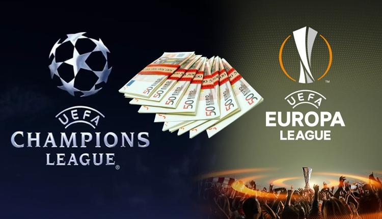 Şampiyonlar Ligi ve Avrupa Ligi'nde para ödülleri açıklandı