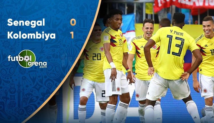 Senegal 0-1 Kolombiya maç özeti ve golleri (İZLE)