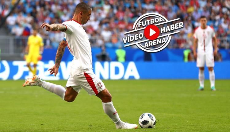 Sırbistan 1-0 Kosta Rika maçı özeti ve golü (İZLE)
